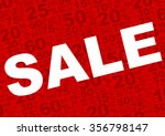 background   sale sign with... | Shutterstock .eps vector #356798147