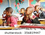 malealea  lesotho   august ... | Shutterstock . vector #356819447