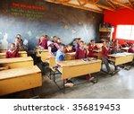 malealea  lesotho   august ... | Shutterstock . vector #356819453