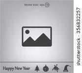 photograph icon   Shutterstock .eps vector #356832257