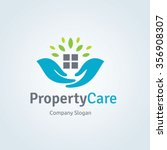 property care logo template ... | Shutterstock .eps vector #356908307