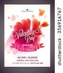 creative glossy hearts... | Shutterstock .eps vector #356916767