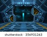Spaceship Interior. Inside Of...
