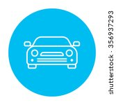 car line icon for web  mobile... | Shutterstock .eps vector #356937293