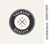 abstract premium quality label... | Shutterstock .eps vector #356973947