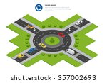 Roundabout Icon. Roundabout...