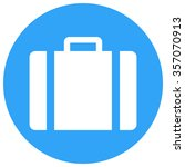 suitcase icon  modern minimal...   Shutterstock .eps vector #357070913