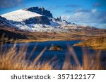 lock fada and the snowy old man ... | Shutterstock . vector #357122177