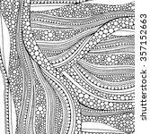 doodle background pattern...   Shutterstock .eps vector #357152663