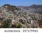 Small photo of City on a Hill, Aizawl