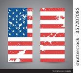 set of retro vertical...   Shutterstock .eps vector #357207083