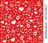 happy st. valentine's day  red... | Shutterstock .eps vector #357213617