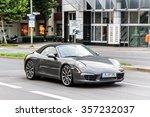 Постер, плакат: Motor car Porsche 991