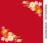 japanese style back ground... | Shutterstock . vector #357320303