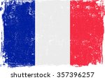 france vector grunge flag... | Shutterstock .eps vector #357396257