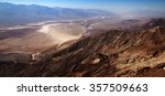 Badwater Basin Seen From Dante...