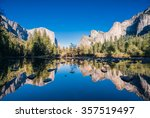 typical view of the yosemite... | Shutterstock . vector #357519497