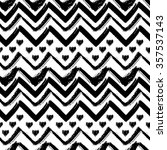 monochrome seamless pattern ... | Shutterstock .eps vector #357537143