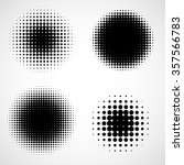 abstract halftone backgrounds.... | Shutterstock .eps vector #357566783