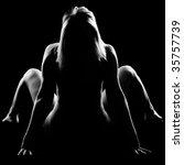 contour light picture of nude...