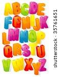 abc. vector. | Shutterstock .eps vector #35761651