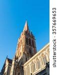 main spire of st paul's...