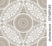 decorative lace doily seamless... | Shutterstock .eps vector #357689183