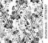watercolor monochrome imprints... | Shutterstock . vector #357706547