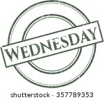 wednesday rubber texture | Shutterstock .eps vector #357789353