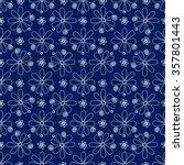 floral seamless pattern. white... | Shutterstock .eps vector #357801443