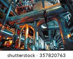 equipment  cables and piping as ... | Shutterstock . vector #357820763