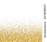 vector gold glittering abstract ... | Shutterstock .eps vector #357858947