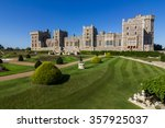 windsor castle near london ... | Shutterstock . vector #357925037