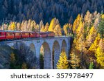 The Sightseeing Train Bernina...
