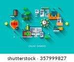 modern flat line design  web...   Shutterstock .eps vector #357999827