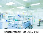 laboratory interior out of... | Shutterstock . vector #358017143