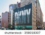 new york city  usa   oct 26 ... | Shutterstock . vector #358018307