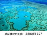 Heart Reef Great Barrier Reef...