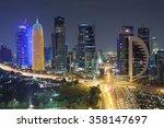 doha  qatar   nov 20  view over ...   Shutterstock . vector #358147697