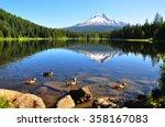 Trillium Lake  Oregon  U.s.a.