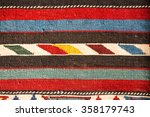armenian carpet detail with... | Shutterstock . vector #358179743