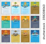 Calendar For The Year 2016. To...