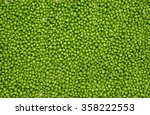 Fresh Green Peas Background...