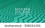 cool  modern zig zag background ...