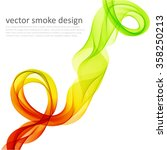 abstract template color flyer...   Shutterstock .eps vector #358250213