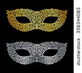 vector illustration of golden... | Shutterstock .eps vector #358344083