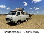 gobi desert  mongolia   august... | Shutterstock . vector #358414007