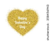 happy valentines day greeting... | Shutterstock .eps vector #358456943