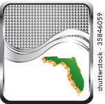 florida icon on checkered wave... | Shutterstock .eps vector #35846059