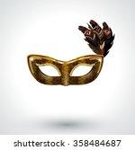 snake skin venetian carnival... | Shutterstock .eps vector #358484687